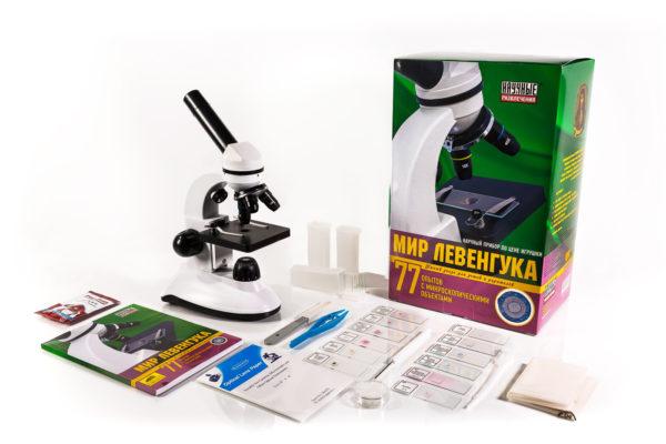 """Детский микроскоп """"Мир Левенгука"""" 1"""